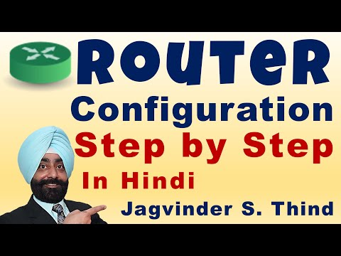 Cisco Router Configuration Step by Step in Hindi