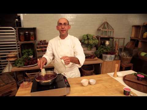 Roasted Beet & Yogurt Soup