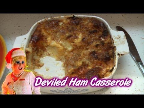 Deviled Ham Casserole ; Trailer Park Christmas Day 22