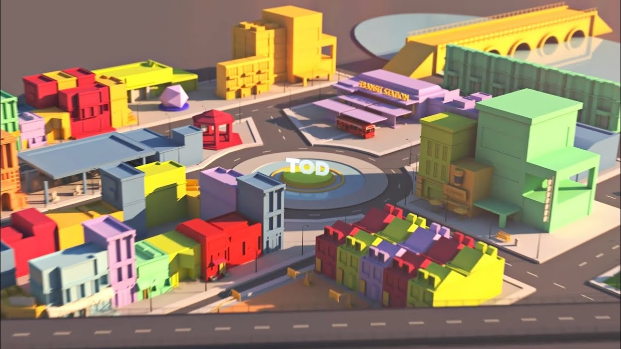 TOD - Learn about Transit-Oriented Development