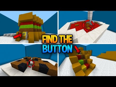 HIDDEN BUTTONS IN MINECRAFT! (Find The Button Food Edition)