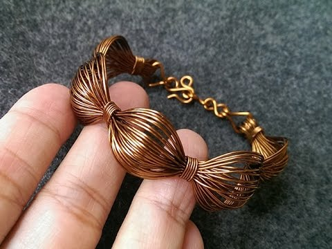 simple Wire bracelet - handmade copper jewelry 243