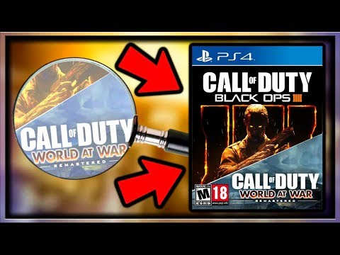 Treyarch Tease World at War Remastered Bundled With BO4?! (Black Ops 4 WaW Remastered Bundle?)