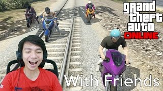 Gila Balapan - Grand Theft Auto V Online - GTA 5 With Friends