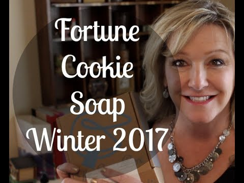 Unboxing—Fortune Cookie Soap—Winter 2017