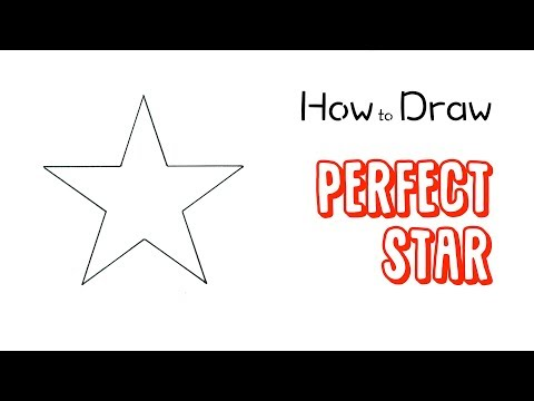 How to Draw a Perfect 5-Point Star