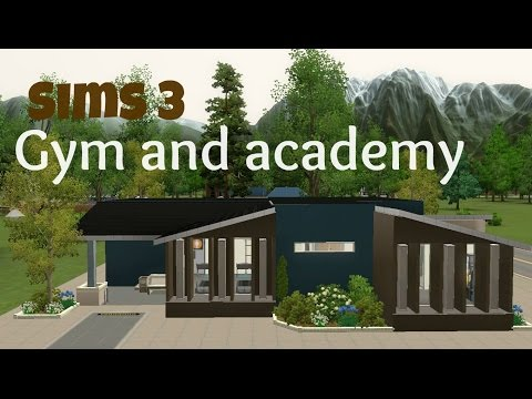 Sims 3 Community Lot Building - Gym