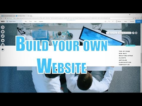Build your own Website | Wix Tutorial 2018 (ADI + Editor)