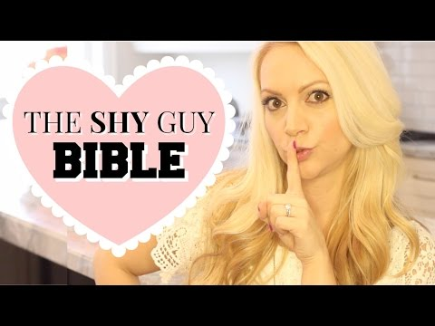 THE SHY GUY BIBLE!!! (Plus Sephora GIVEAWAY!)