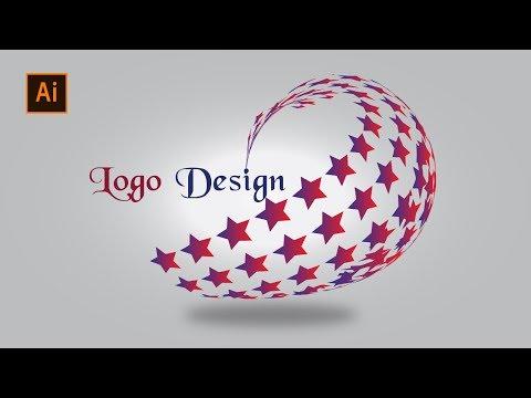 How to learn Professional Logo Design Adobe Illustrator cs6 (3d Star) | 2018 | Latest