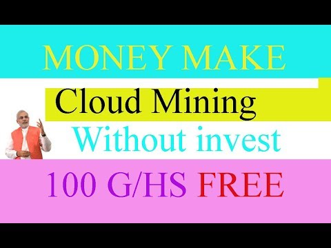 2018 New Cloud Mining Site 100 G/HS Without Investment