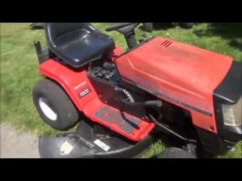 Very COMMON MTD Riding Lawnmower PROBLEM, WON'T START  - Blade Engagement Safety Switch