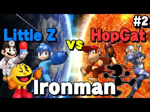 Little Z vs HopCat - Smash Bros. Ironman (Part 2)