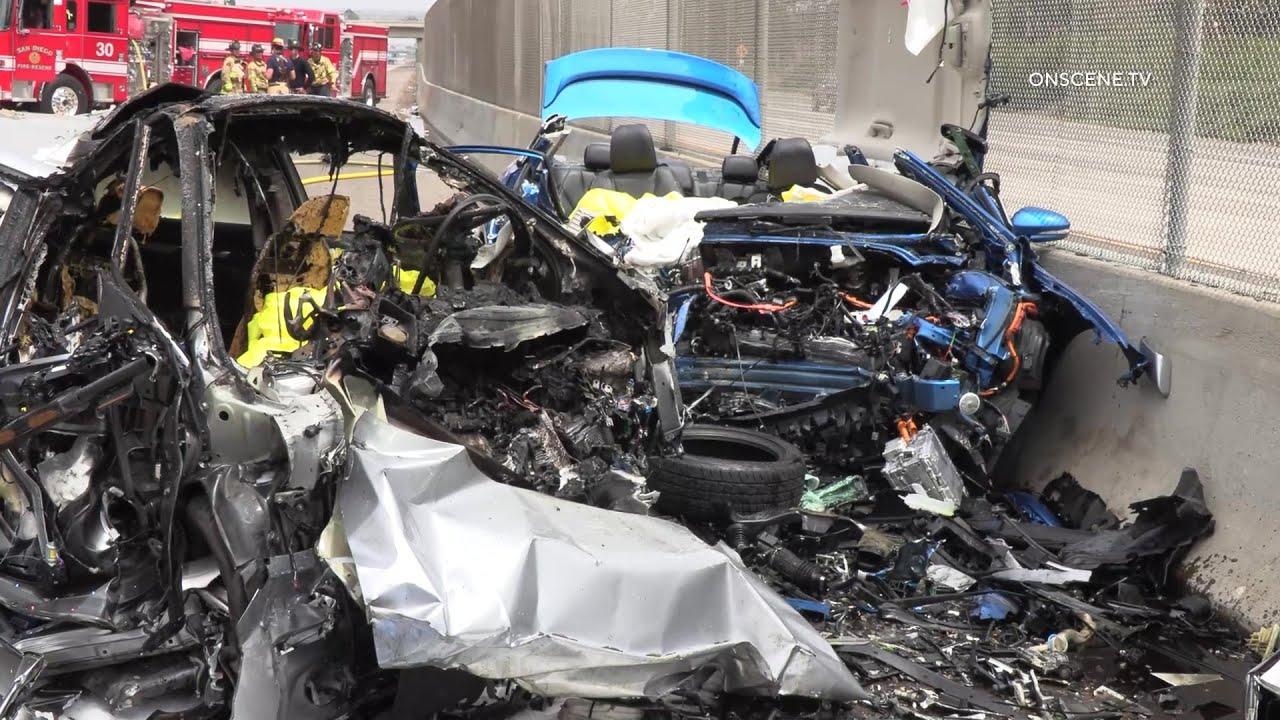 Two SDPD Detectives Killed in Triple Fatal Crash | San Ysidro