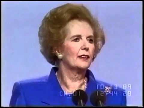 Margaret Thatcher on workforce - Starting a new career at older age