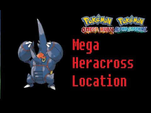 Where To Find Heracronite (Mega Heracross) Pokemon Omega Ruby Alpha Sapphire Location
