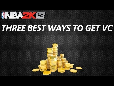 NBA 2K13 Virtual Currency | Three Best Ways To Get VC
