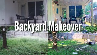 Transforming our Backyard in 48 Hours!