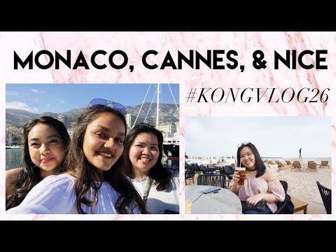 MONACO, CANNES, & NICE - #KONGVLOG26