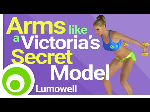 Arms Like a Victoria's Secret Model Workout - 8 Minutes