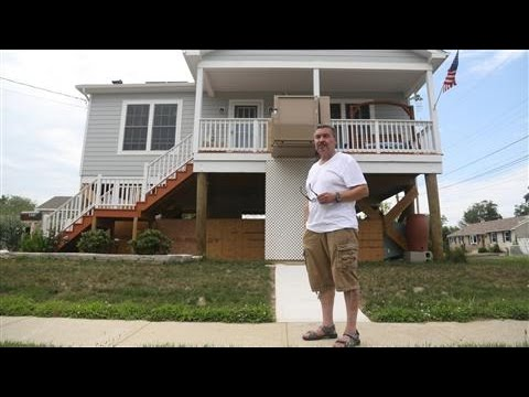 Jersey Shore Homeowners Raise Homes After Sandy
