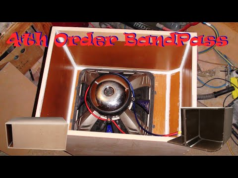 4th Order BandPass Box Build - Kicker L7 15