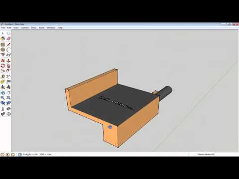 Google Sketchup Tutorial: 3D Text and Hand Tool Tutorial
