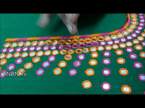 mirror work blouses with price | new maggam work designs | simple maggam work blouse designs