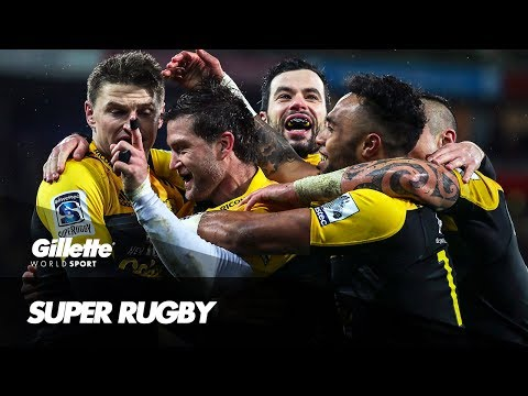 Super Rugby with the Hurricanes | Gillette World Sport