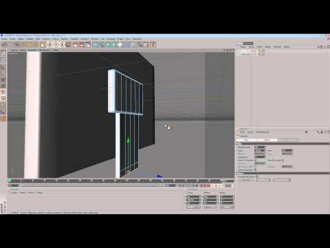 C4D - Simple LCD TV Tutorial