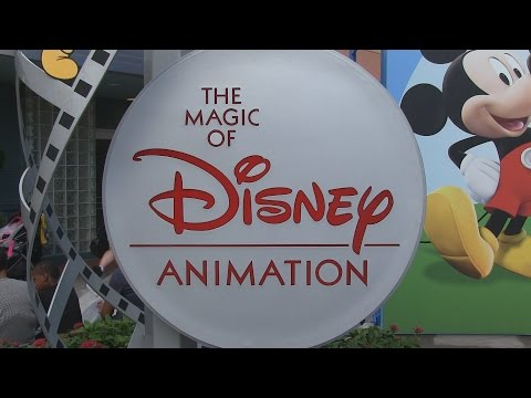 Tour the former Magic of Disney Animation attraction at Disney's Hollywood Studios