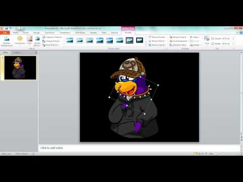 ClubPenguin- How To Make A Custom Penguin!