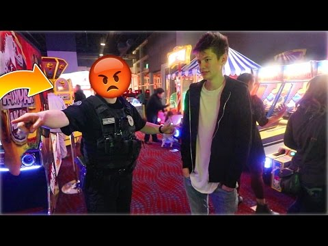 POLICE KICKED ME OUT OF ARCADE FOR WINNING JACKPOTS! | David Vlas