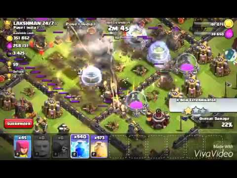 Clash of clans   mod , infinite spells !!!