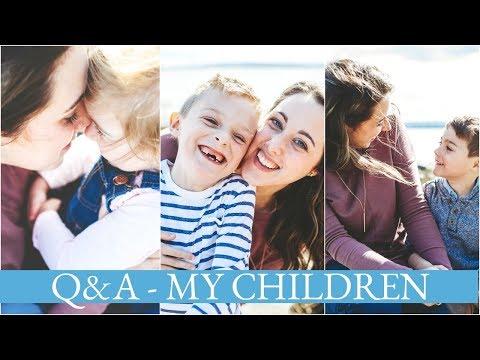 Chit Chat   Q&A - My Children - Choosing names, More babies, Social Media
