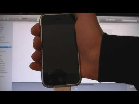How To Install iOS4 (4.0) on iPhone 2G (1st Gen) & iPod Touch 1G