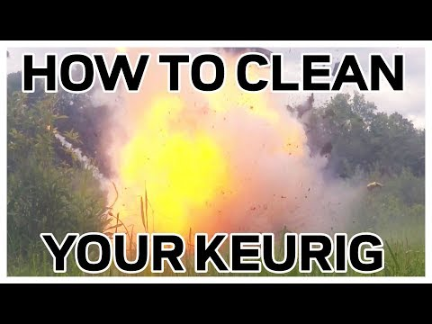 How to Clean Your Keurig Coffee Maker - Exploded View