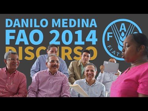 Video: Discurso de Danilo Medina en la FAO