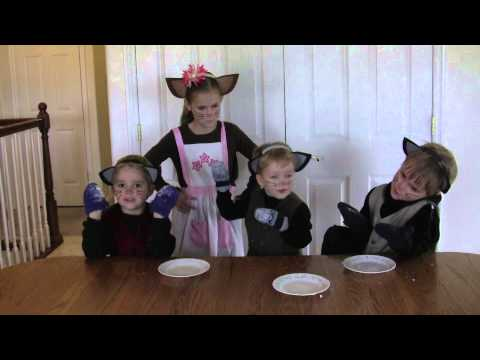 Three Little Kittens - Story and Nursery Rhyme - AMAZING! SO CUTE!!