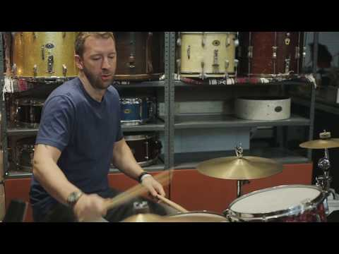 Nelson Drum Co. Featured Artist: Mike Johnston- Kit 1, Beat 1