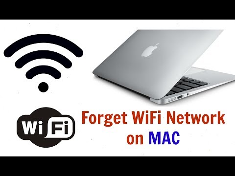 Forget Wi-Fi Network On MAC (2017)