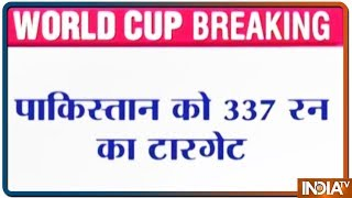 2019 World Cup: Rohit smashes 140, takes India to 336/5 against Pakistan