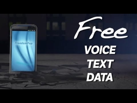 Free phone service: free service using freedompop, google voice,hangouts and no sim card.
