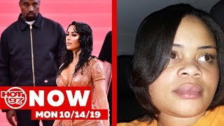 Rolling Loud NYC + Kanye Not Feeling Kim K's Tight Clothes + #AtatianaJefferson #HOT97NOW