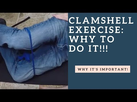 DO The Clamshell Exercise To Strengthen Your Hip External Rotator Muscles!