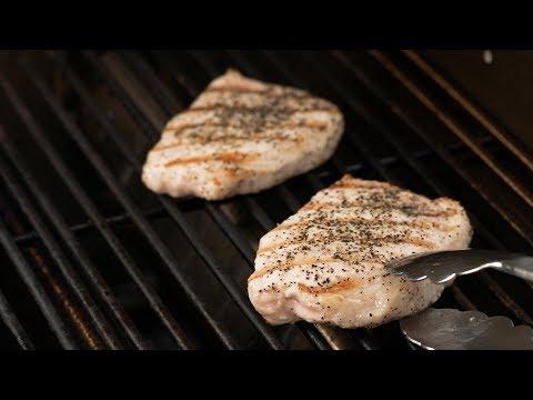 Grilled Boneless Pork Chops