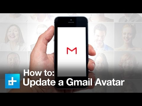 How to change a Gmail profile image