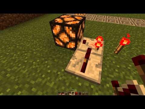 Minecraft: Redstone Comparator Clock
