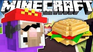If Purple Shep Got a Job - Minecraft