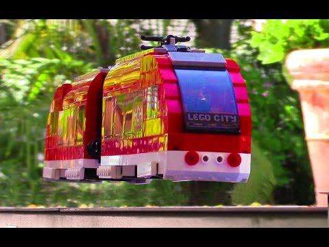 Lego magnetic train levitation